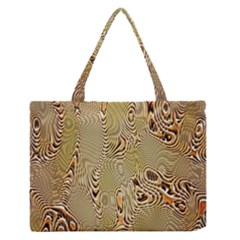 Pattern Abstract Art Zipper Medium Tote Bag by Nexatart