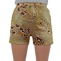 Pattern Abstract Art Sleepwear Shorts