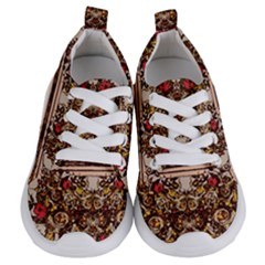 Roses Floral Wallpaper Flower Kids  Lightweight Sports Shoes