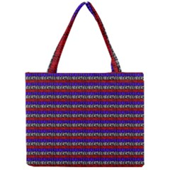 French Revolution Typographic Pattern Design 2 Mini Tote Bag by dflcprints