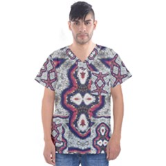 Men s V Neck Scrub Top by GhostGear