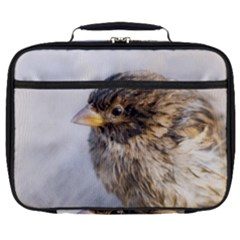 Funny Wet Sparrow Bird Full Print Lunch Bag by FunnyCow
