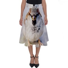 Do Not Mess With Sparrows Perfect Length Midi Skirt by FunnyCow