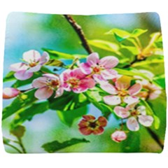 Crab Apple Flowers Seat Cushion