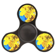 Yellow Maple Leaves Finger Spinner by FunnyCow