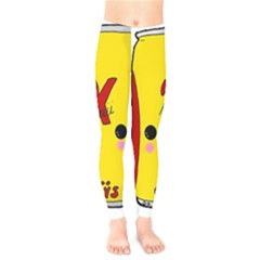 Kawaii Cute Tennants Lager Can Kids  Legging