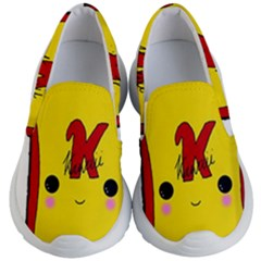 Kawaii Cute Tennants Lager Can Kid s Lightweight Slip Ons by CuteKawaii1982