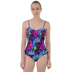 Paint Spots Texture                                   Sweetheart Tankini Set by LalyLauraFLM
