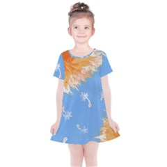 Floating Wishes Kids  Simple Cotton Dress