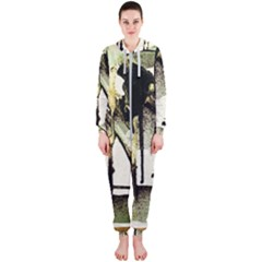 There Is No Promissed Rain 2 Hooded Jumpsuit (ladies)