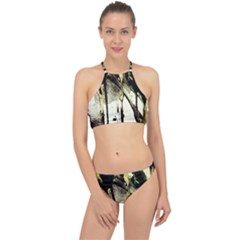 There Is No Promissed Rain 2 Racer Front Bikini Set