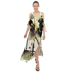 There Is No Promissed Rain 2 Maxi Chiffon Cover Up Dress