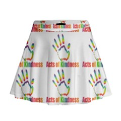 Acts Of Kindness Mini Flare Skirt