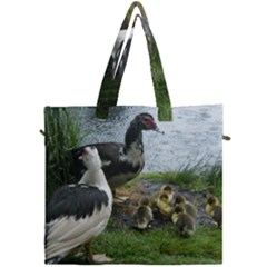 Muscovy Family Canvas Travel Bag