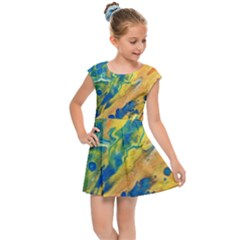Sunfire Kids Cap Sleeve Dress by lwdstudio