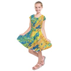 Sunfire Kids  Short Sleeve Dress by lwdstudio