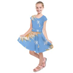 Floating Wishes Kids  Short Sleeve Dress