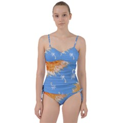 Floating Wishes Sweetheart Tankini Set