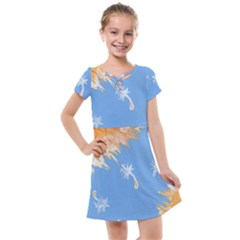 Floating Wishes Kids  Cross Web Dress