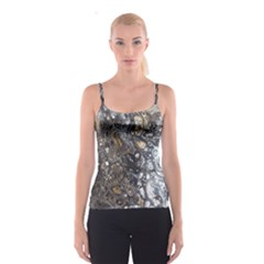 Golden Bubbles Spaghetti Strap Top