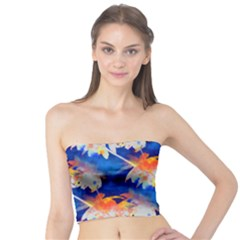 Palm Trees Tropical Beach Sunset Tube Top