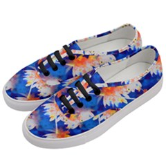 Palm Trees Tropical Beach Sunset Women s Classic Low Top Sneakers by CrypticFragmentsColors