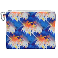Palm Trees Tropical Beach Sunset Canvas Cosmetic Bag (xxl)