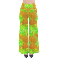 Coconut Palm Trees Caribbean Vibe Women s Chic Palazzo Pants