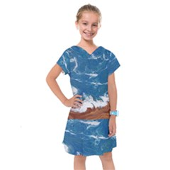 Oceantide Kids  Drop Waist Dress
