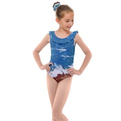 Oceantide Kids  Frill Swimsuit