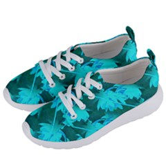 Coconut Palm Trees Caribbean Sea Women s Lightweight Sports Shoes by CrypticFragmentsColors
