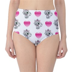 Evil Sweetheart Kitty Classic High-waist Bikini Bottoms by IIPhotographyAndDesigns