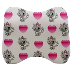 Evil Sweetheart Kitty Velour Head Support Cushion
