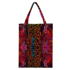 Retro Multi Colors Pattern Created By Flipstylez Designs Classic Tote Bag