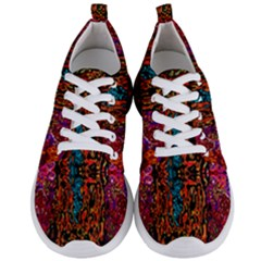 Retro Multi Colors Pattern Created By Flipstylez Designs Men s Lightweight Sports Shoes