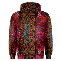 Retro Multi Colors Pattern Created By Flipstylez Designs Men s Overhead Hoodie