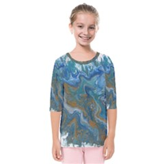 Waters Kids  Quarter Sleeve Raglan Tee