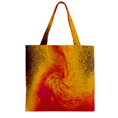Pele 30 Zipper Grocery Tote Bag