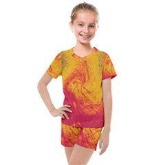 Pele 30 Kids  Mesh Tee And Shorts Set