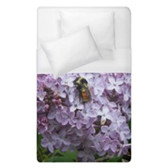 Lilac Bumble Bee Duvet Cover (single Size) by IIPhotographyAndDesigns