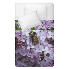 Lilac Bumble Bee Duvet Cover Double Side (single Size)