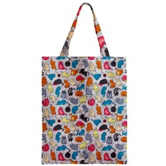 Funny Cute Colorful Cats Pattern Classic Tote Bag by EDDArt