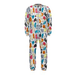 Funny Cute Colorful Cats Pattern Onepiece Jumpsuit (kids) by EDDArt