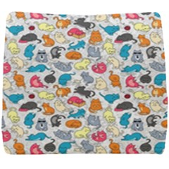Funny Cute Colorful Cats Pattern Seat Cushion