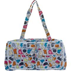 Funny Cute Colorful Cats Pattern Multi Function Bag