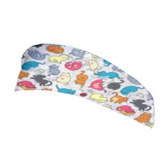 Funny Cute Colorful Cats Pattern Stretchable Headband