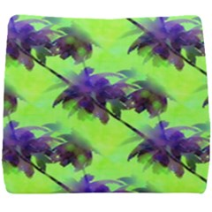 Palm Trees Lime In The Coconut Seat Cushion by CrypticFragmentsColors