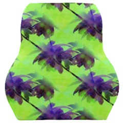 Palm Trees Lime In The Coconut Car Seat Back Cushion  by CrypticFragmentsColors