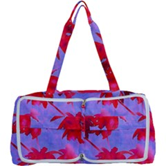 Palm Trees Neon Nights Multi Function Bag	 by CrypticFragmentsColors