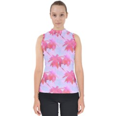 Palm Trees Paradise Pink Pastel Shell Top by CrypticFragmentsColors